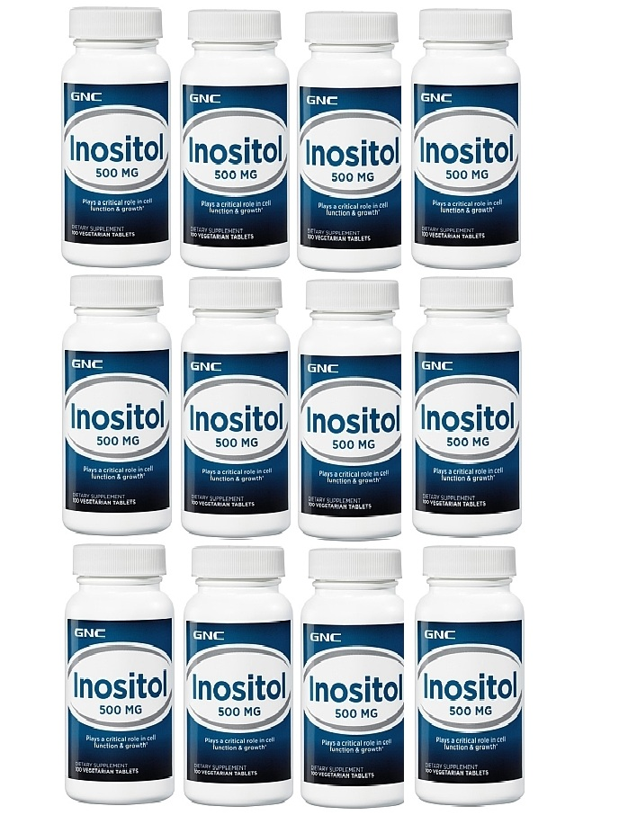 GNC Inositol 500  100 ea 12 pack