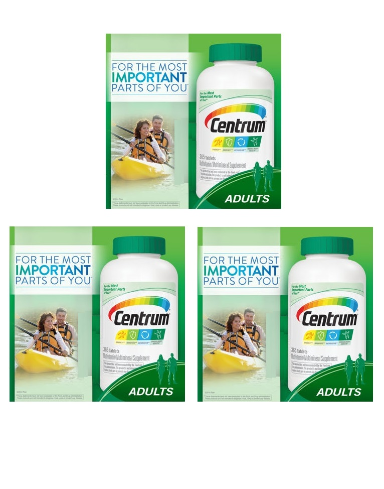 Centrum Multi 365 tb 3 pack