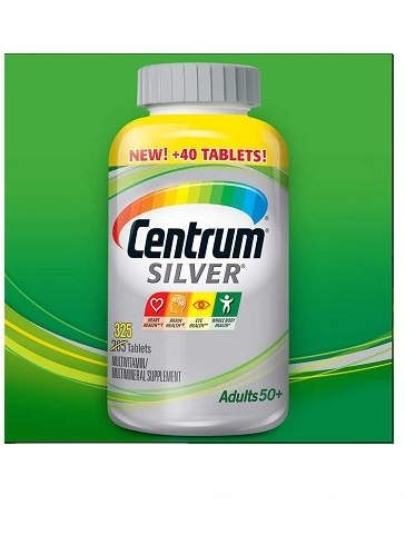 Centrum Silver Multi-vitamin/Multi-mineral With Lutein 1-bottle