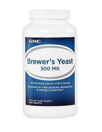 GNC A-Z Brewer's Yeast 500 mg, Tablets 500 ea