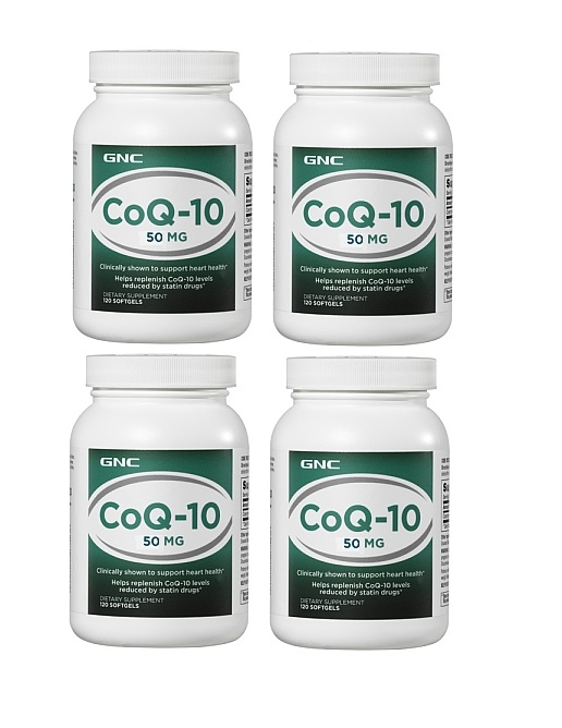 GNC Q-10 50mg 120 Softgel Capsules