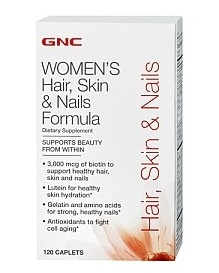 GNC Women's Hair, Skin & Nails Formula 120 Tablets