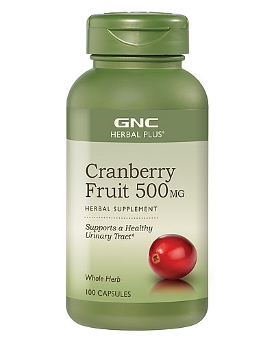 GNC Herbal Plus Cranberry, 500mg, 100 Capsules