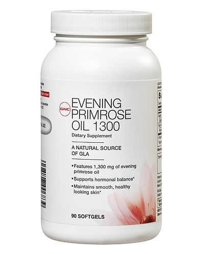 GNC Women's Evening Primrose Oil 1300, Softgel Capsules 90 ea