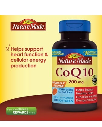 Nature Made 輔酵素 CoQ10 200mg 140顆裝