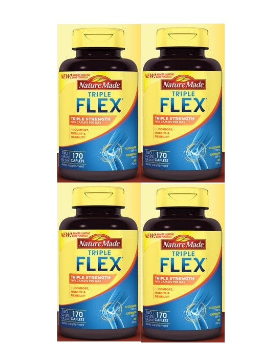 (新配方)Nature Made Triple Strength TripleFlex Glucosamine 4pk