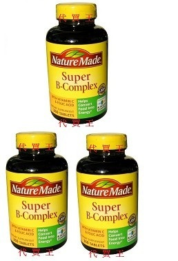 Nature Made Super B+C Complex 460 Tablets x 3