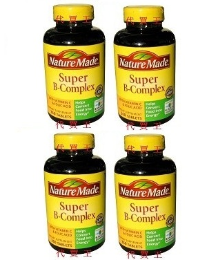 Nature Made Super B+C Complex 460 Tablets x 4