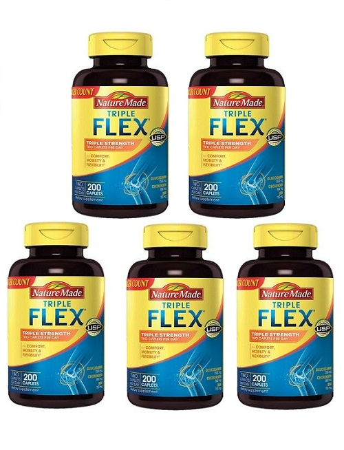 (新配方)Nature Made Triple Strength TripleFlex Glucosamine 5pk