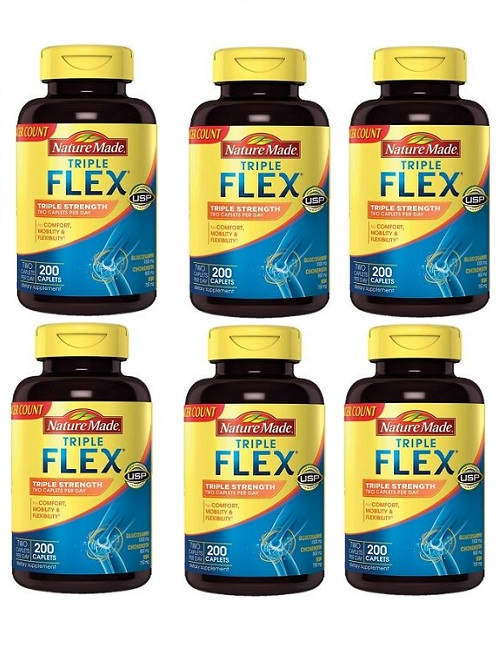 (新配方)Nature Made Triple Strength TripleFlex Glucosamine 6pk