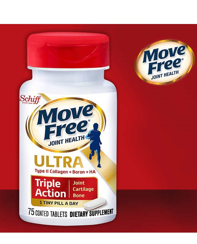 Schiff Move Free Ultra Triple Action, 75 Tablets