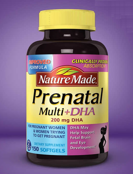 Nature Made Prenatal Multi + DHA, 150顆