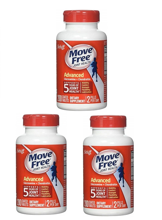 Schiff Move Free Advance 200 Tablets x 3